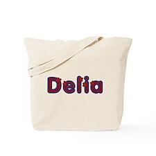 Delia Red Caps Tote Bag