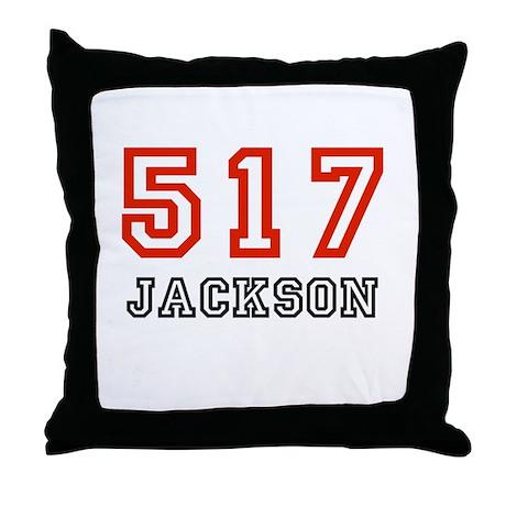 517 Throw Pillow