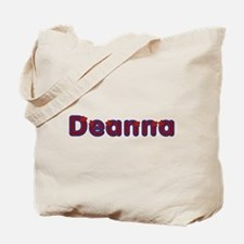 Deanna Red Caps Tote Bag