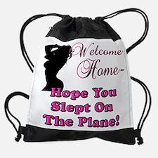 welcomehomesign.png Drawstring Bag