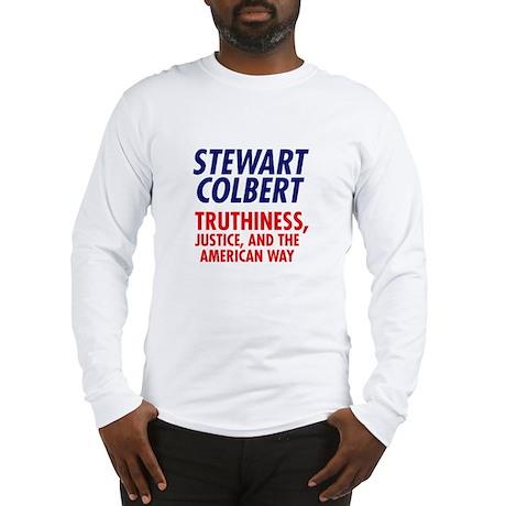 Stewart Colbert 08 Long Sleeve T-Shirt