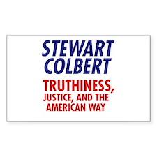 Stewart Colbert 08 Rectangle Decal