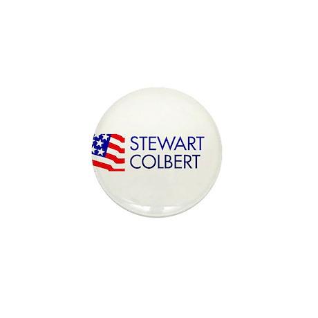 Stewart Colbert 08 Mini Button