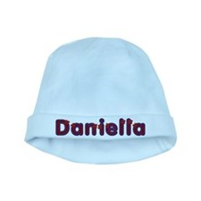 Daniella Red Caps baby hat