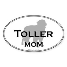 Toller MOM Oval Decal