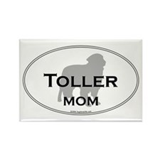 Toller MOM Rectangle Magnet
