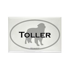 Toller Rectangle Magnet