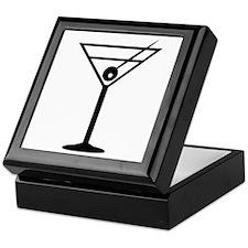 Martini Drink Icon Keepsake Box