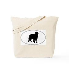 Toller Silhouette Tote Bag
