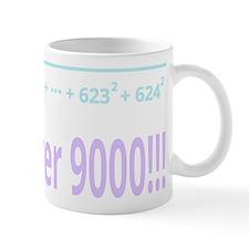 It's over 9000! (for dark background) Mug