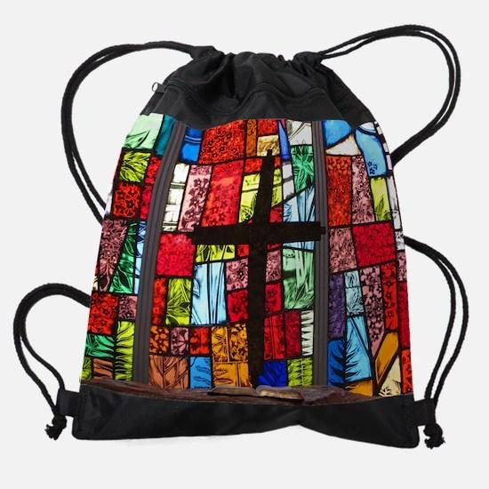 mouse-cross Drawstring Bag