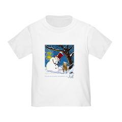 Snowman Unchains Dog T