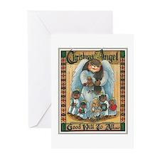 Christmas Angel Greeting Cards (Pk of 10)