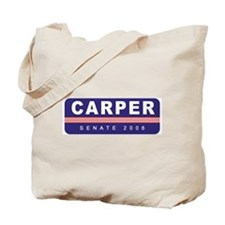 Support Tom Carper Tote Bag