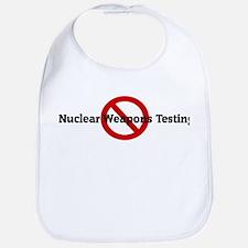 Anti Nuclear Weapons Testing Bib