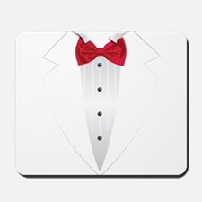 Tuxedo (red) Mousepad