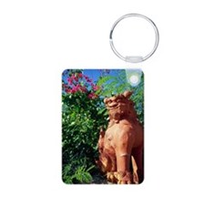Lion shaped roof ornament  Keychains