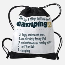 Top 5 things I hate about Camping Drawstring Bag