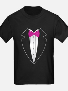 Tuxedo (pink) T-Shirt