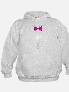 Tuxedo (pink) Hoodie