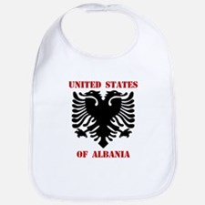 United States of Albania Bib
