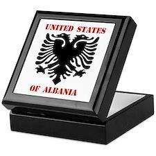United States of Albania Keepsake Box