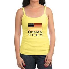 Flag: Obama 2008 Jr.Spaghetti Strap