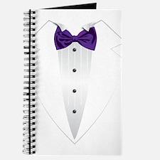 Tuxedo (violet) Journal