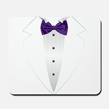 Tuxedo (violet) Mousepad