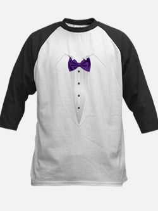 Tuxedo (violet) Baseball Jersey