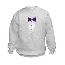 Tuxedo (violet) Sweatshirt