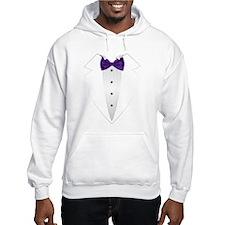 Tuxedo (violet) Hoodie