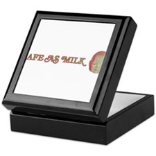 Safe as Milk Keepsake Box