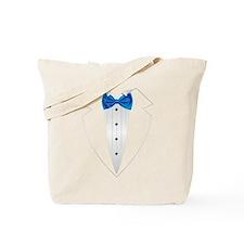 Tuxedo (lt blue) Tote Bag