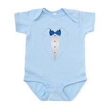 Tuxedo (lt blue) Body Suit