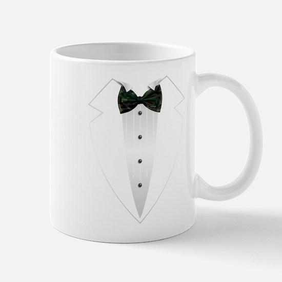 Tuxedo (woodland camo) Mug