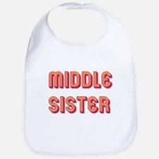 Retro Middle Sister Bib