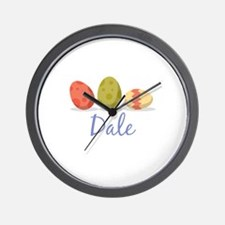Easter Egg Dale Wall Clock
