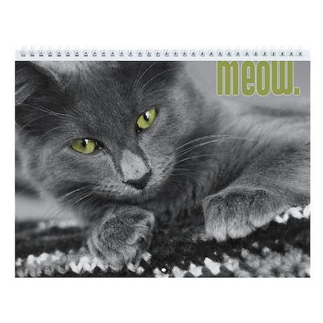 Meow Wall Calendar