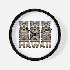 Hawaii Tiki Wall Clock