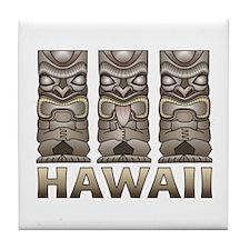 Hawaii Tiki Tile Coaster