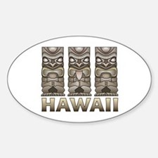 Hawaii Tiki Decal
