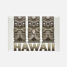 Hawaii Tiki Rectangle Magnet