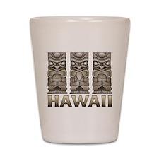 Hawaii Tiki Shot Glass