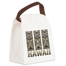 Hawaii Tiki Canvas Lunch Bag