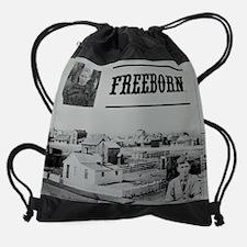 Cool Unlikely hero Drawstring Bag