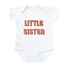Retro Little Sister Infant Bodysuit