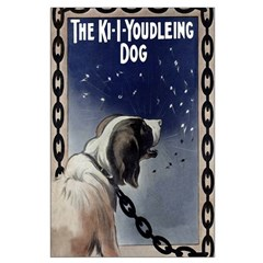 Vintage Youdleing Dog Posters