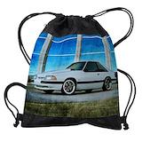 Mustang Drawstring Bag