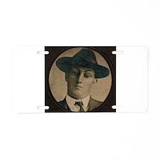 Bugsey Aluminum License Plate